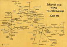 SCHEMAT WPK WAŁBRZYCH 1984-85