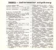 ŚWIDNICKI PRZEBIEG LINII AUTOBUSOWYCH 1984-85
